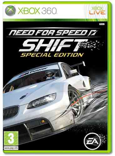 Need For Speed Shift Collectors Edition X360