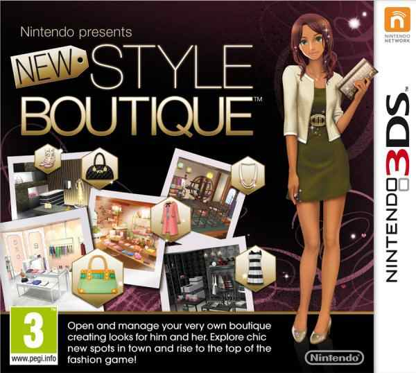 Nintendo Presents New Style Boutique  3ds