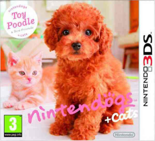 Nintendogs   Cats Caniche 3ds