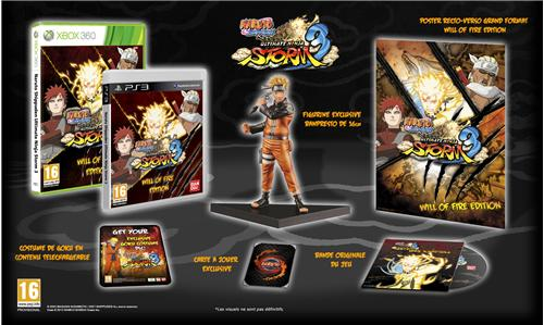 Naruto Shippuden Ultimate Ninja Storm 3 Will Of Fire Collect