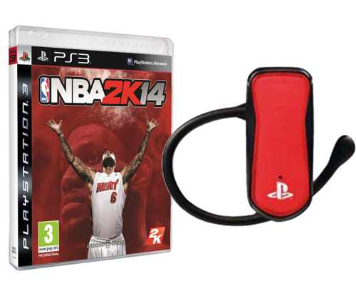 Nba 2k14 Ps3 Bluetooth Headset 4gamers