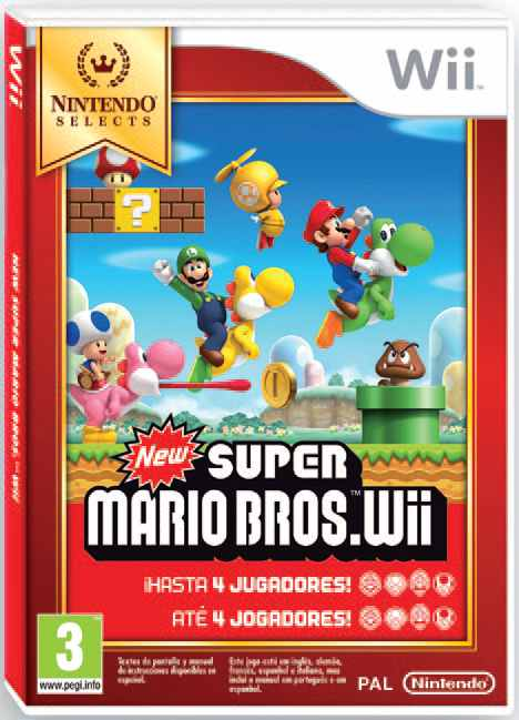 Ver New Super Mario Bros Selects Wii