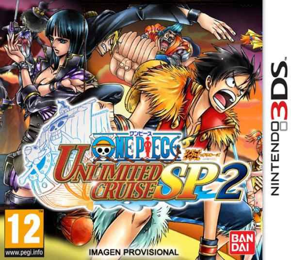 One Piece Unlimited Cruise Sp 2 3ds