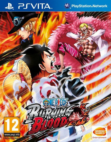 Ver One Piece Burning Blood Psvita
