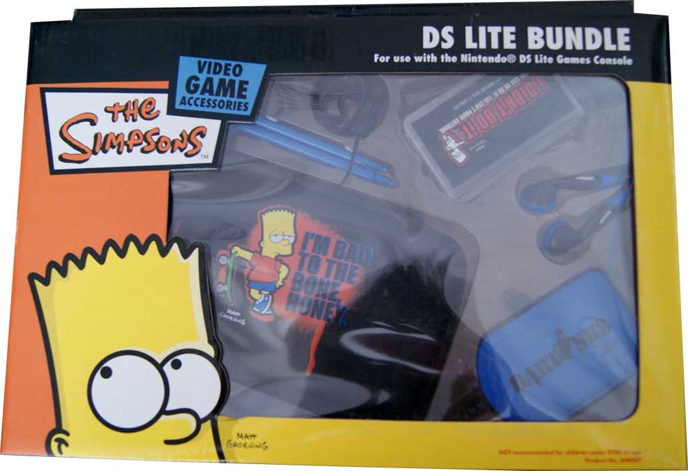 Pack Bart Simpson Nds Lite Ar