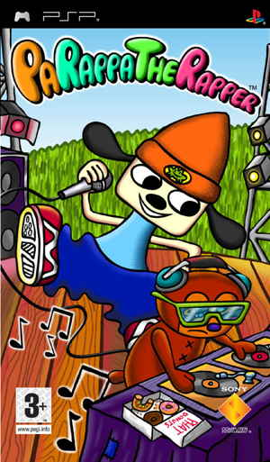 Parappa The Rapper Esn Psp