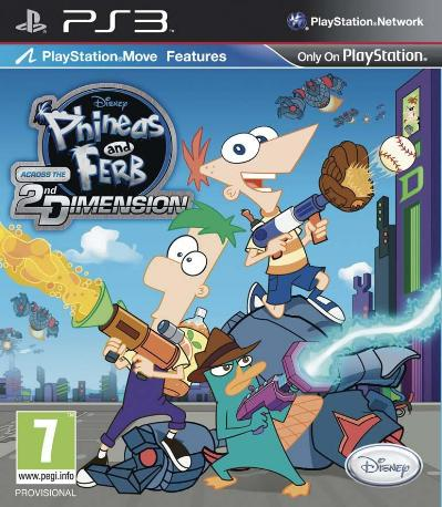 Phineas  Ferb Ps3