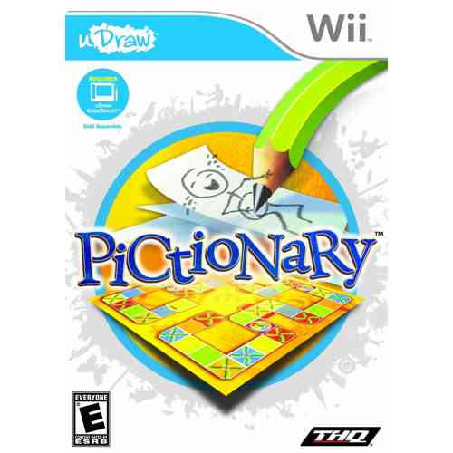 Pictionary Wii Tablet