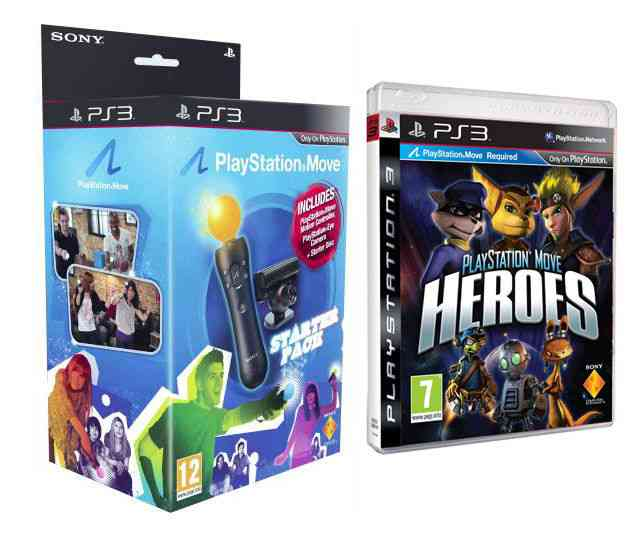 Playstation Move Heroes  Move Starter Pack Ps3m
