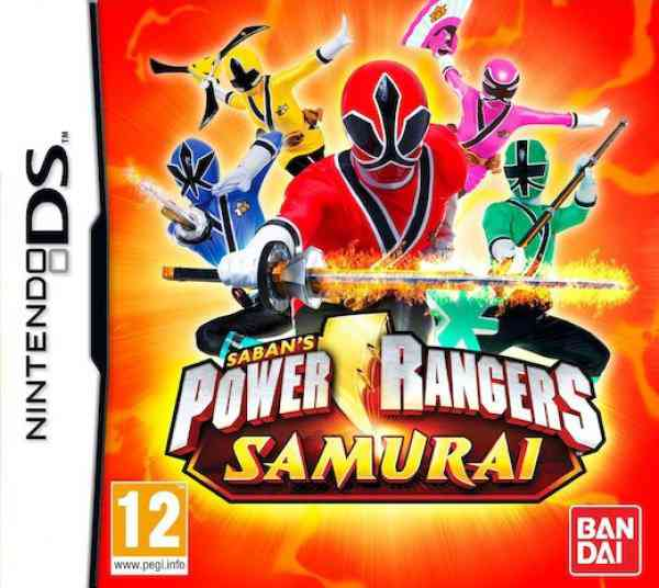 Power Rangers Samurai Nds