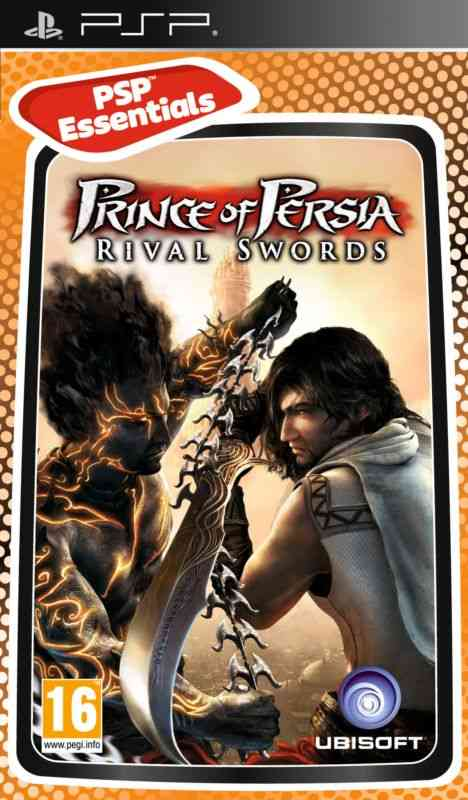 Prince Of Persia Rival Swords Essentials Psp