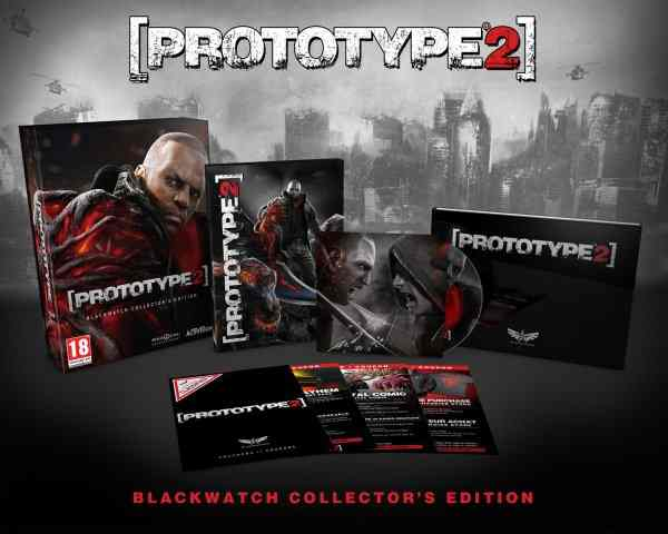 Prototype 2 Collector Edition X360