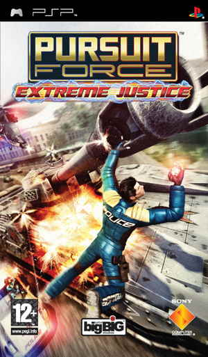 Pursuit Force Extreme Justice Esn Psp