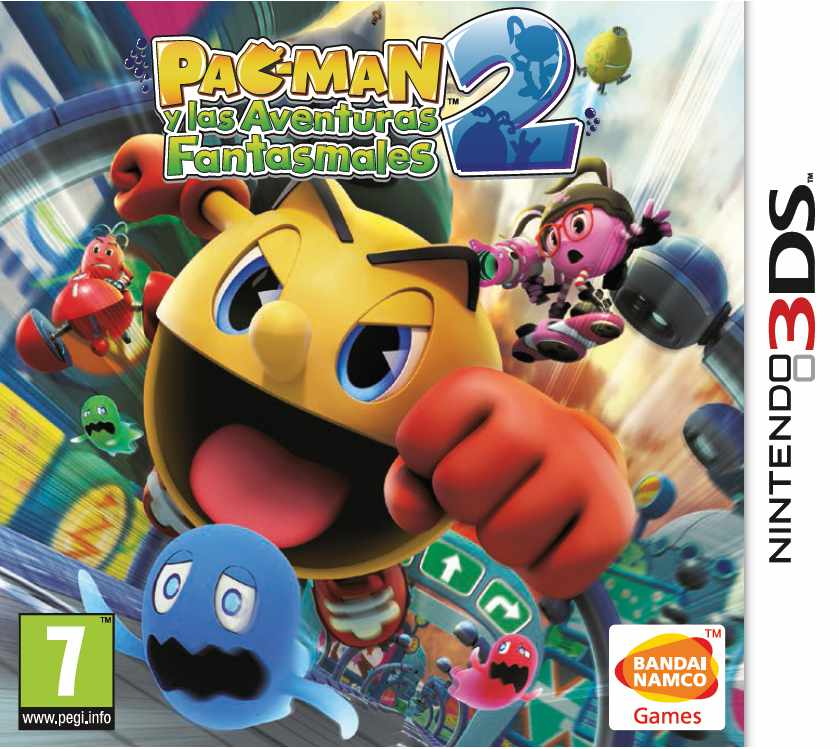 Ver Pac Man And The Ghostly Adventures 2 3Ds