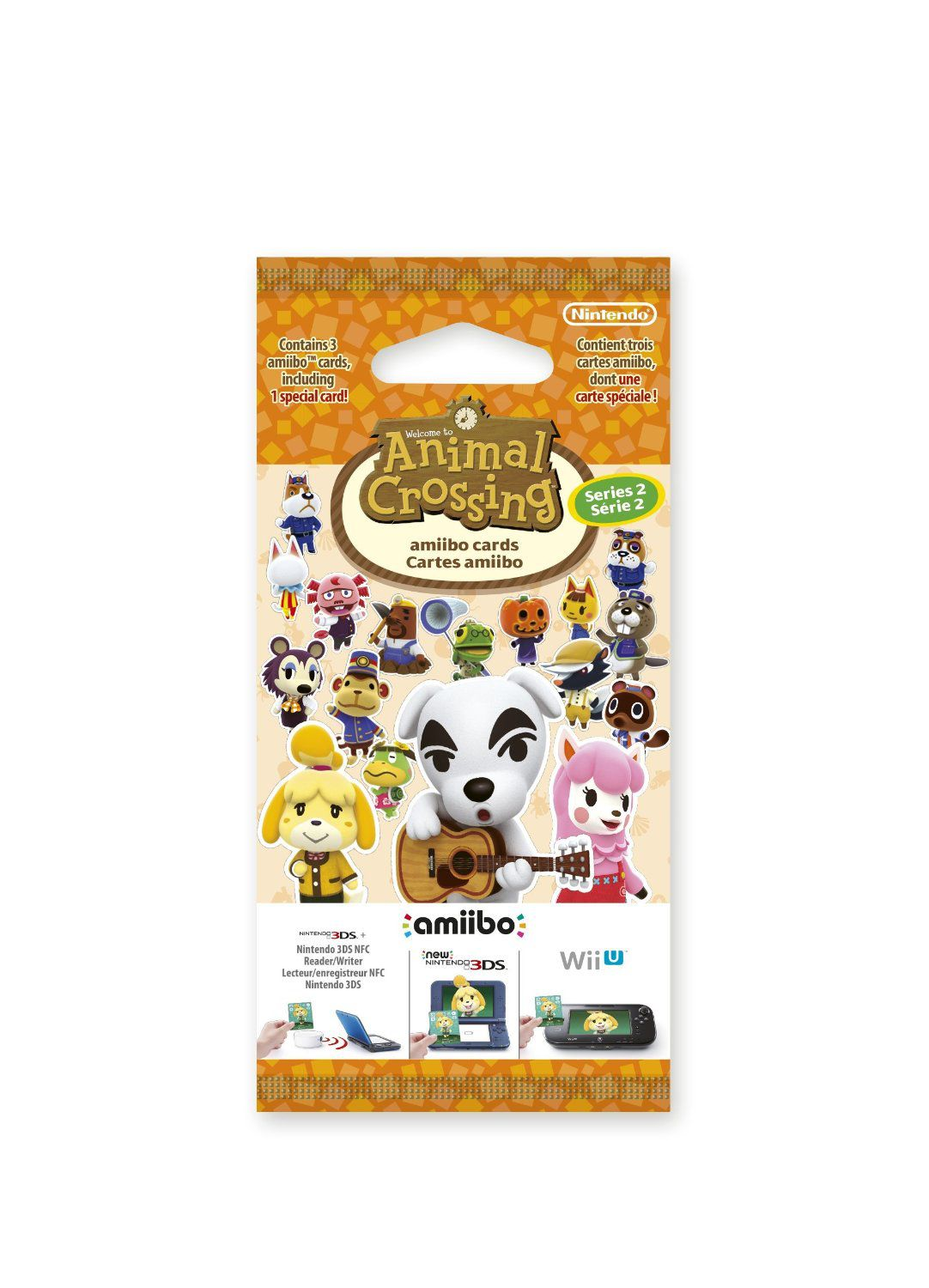 Ver Pack 3 Tarjetas Amiibo Animal Crossing Serie 2