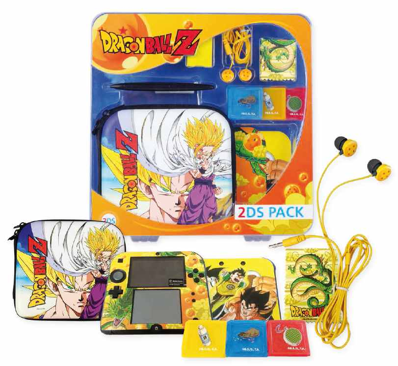 Ver Pack Dragon Ball Z 2Ds