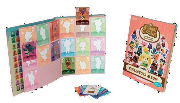Ver Pack 3 Tarjetas Amiibo Animal Crossing Serie 4  Album