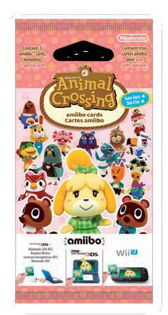Ver Pack 3 Tarjetas Amiibo Animal Crossing Serie 4