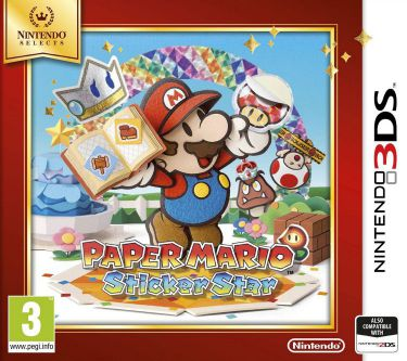 Ver Paper Mario Sticker Star Selects 3Ds