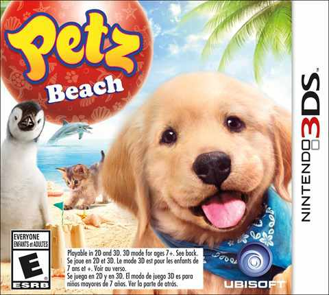 Ver Petz Beach Animalz Diversion En La Playa 3Ds