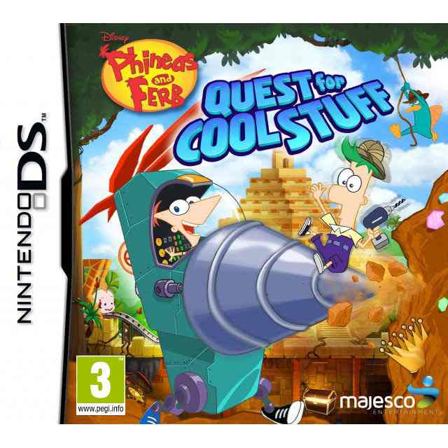 Phineas Ferb Quest For Cool Stuff Nds
