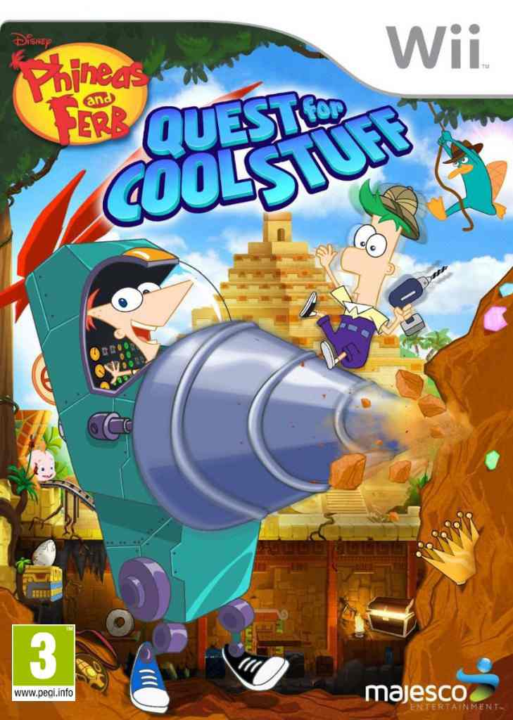 Phineas Ferb Quest For Cool Stuff Wii