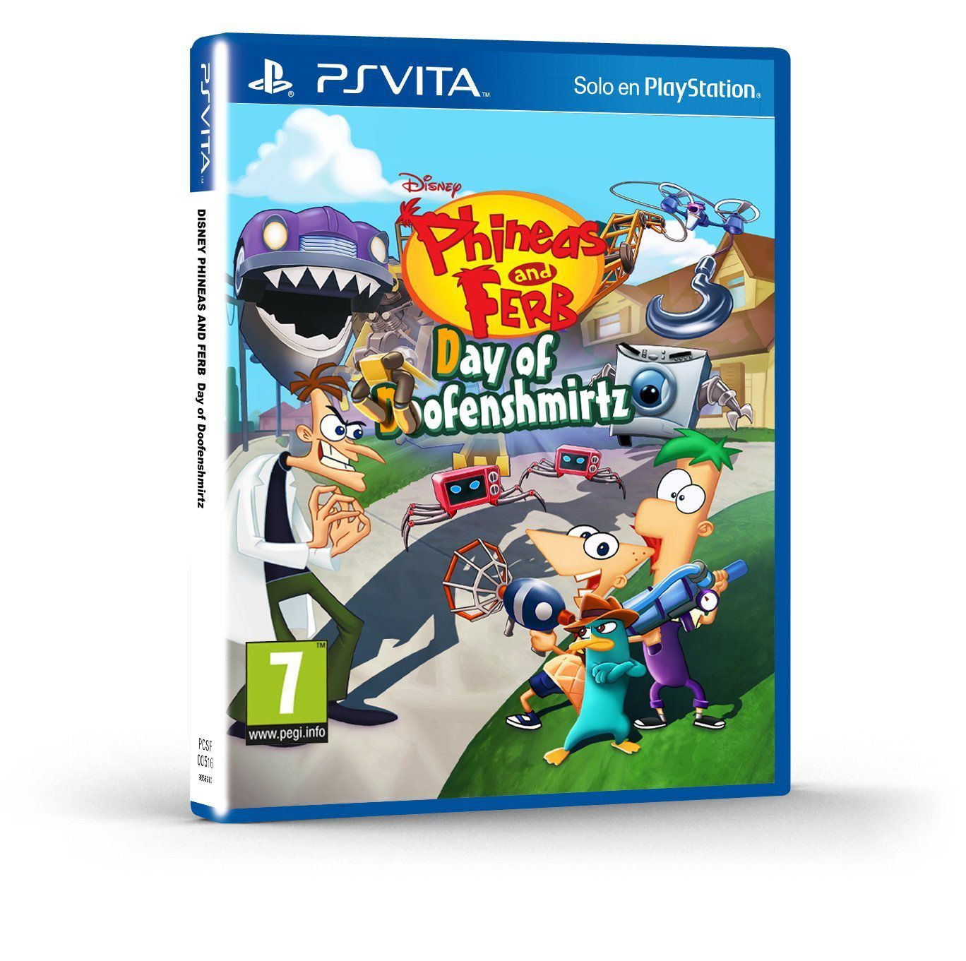 Ver Phineas Pherb Day of Doofenshmirtz Ps Vita