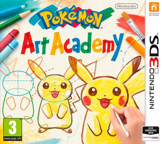 Ver Pokemon Art Academy 3Ds