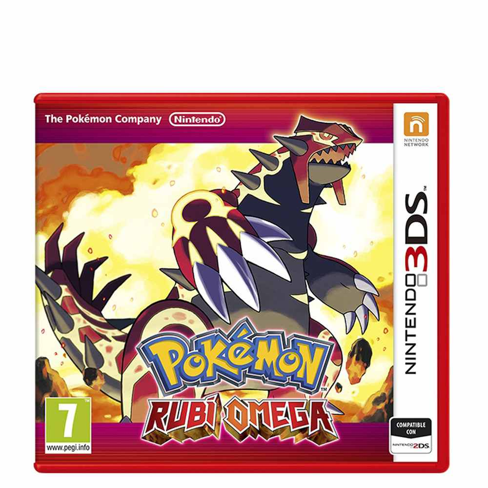 Ver Pokemon Rubi Omega 3Ds