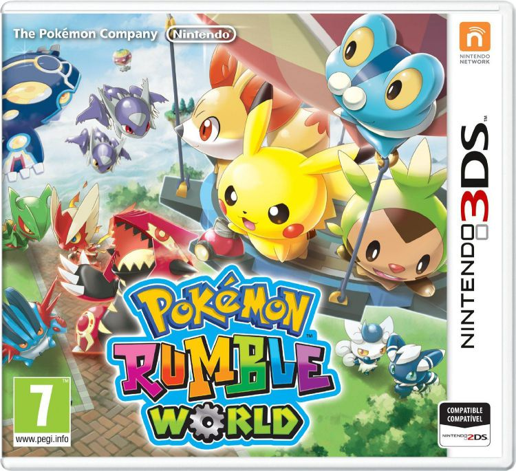 Ver Pokemon Rumble World 3Ds