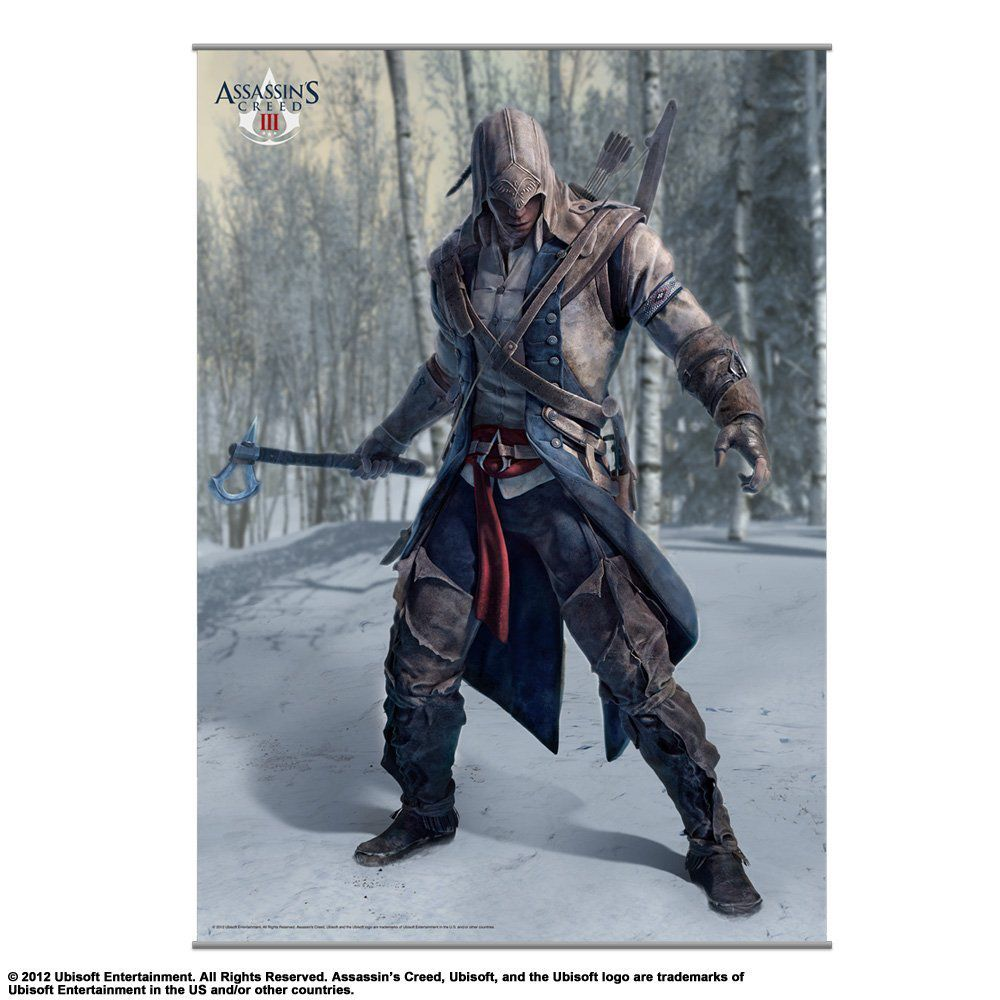 Ver Poster Assasins Creed III Original Wall Scroll