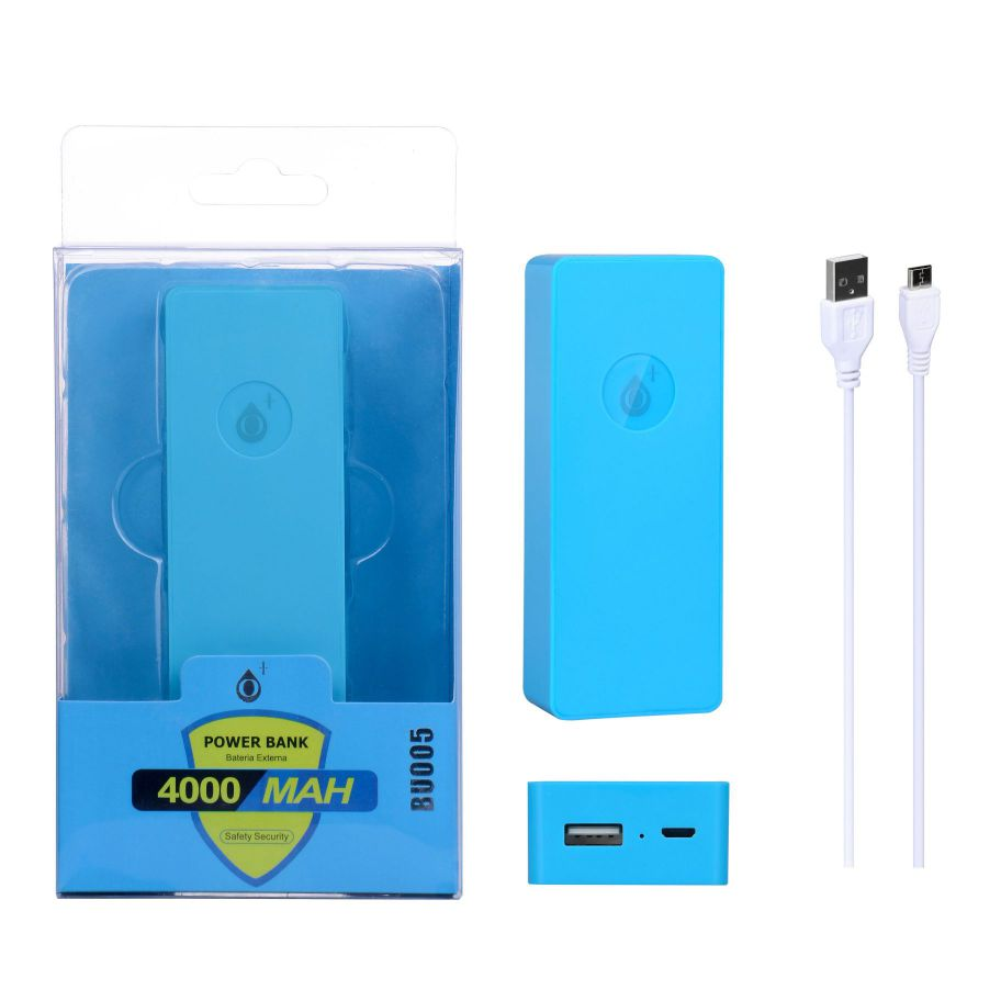 Ver Power Bank Candy 4000mah Azul ONE PLUS