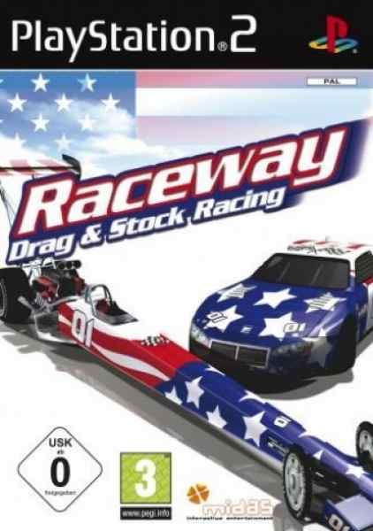 Raceway Drag  Stock Racing Ps2