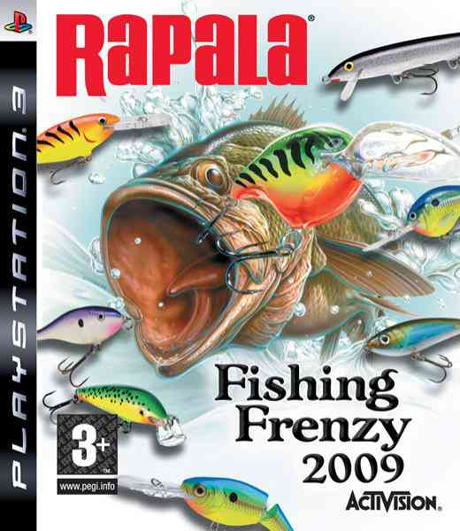 Rapala Fishing Frenzy Ps3