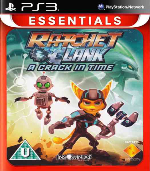 Ratchet  Clak A Crack In Time - Esn Ps3