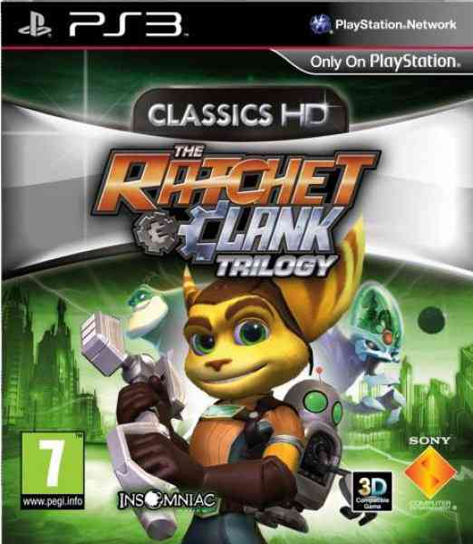 Ratchet  Clank Trilogy Hd Ps3