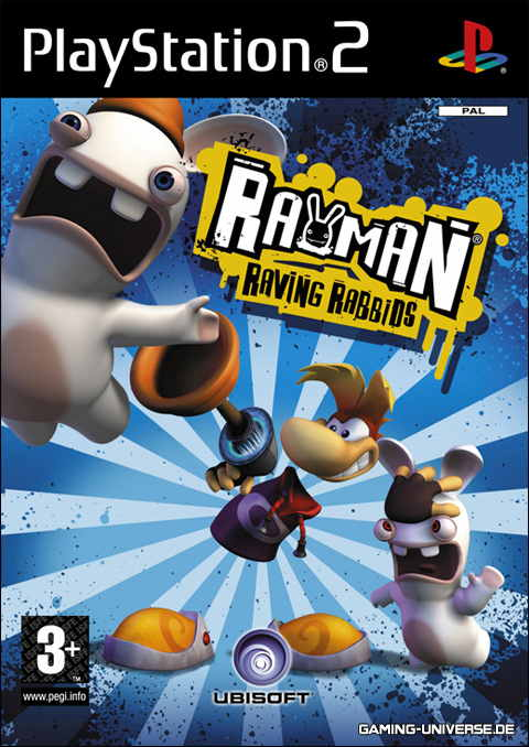 Ver RAYMAN RAVING RABBINDS PS2