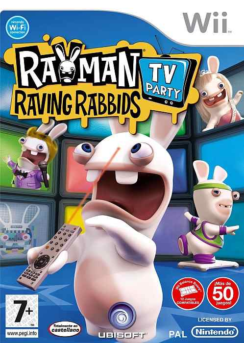 Rayman Raving Rabbinds Tv Wii