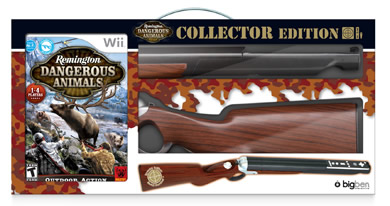 Remington Dangerous Animal   Collector Rifle Wii
