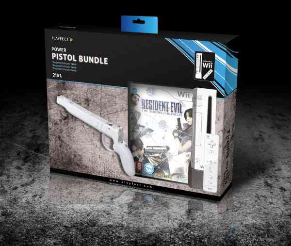 Resident Evil The Darkside Chronicles Power Pistol Wii