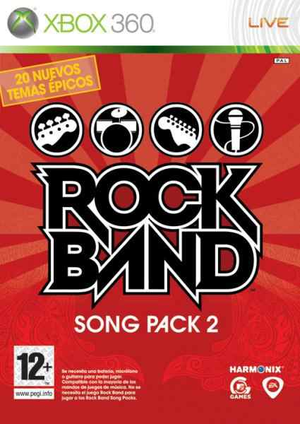 Rock Band Song Pack 2 X360
