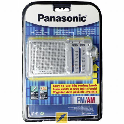 Radio Portatil Plateada RF U160EG9 S Panasonic
