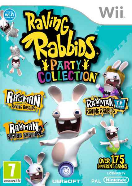 Ver Rayman Raving Rabbids Trilogy Wii