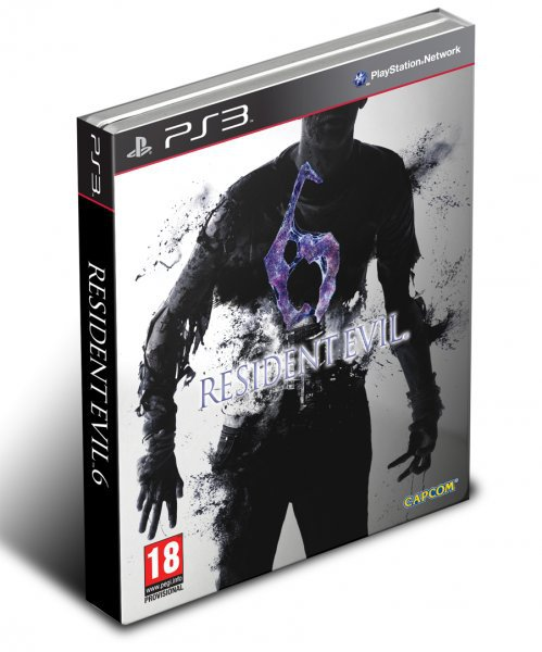 Resident Evil 6 Limited Ed  Steel  Ps3