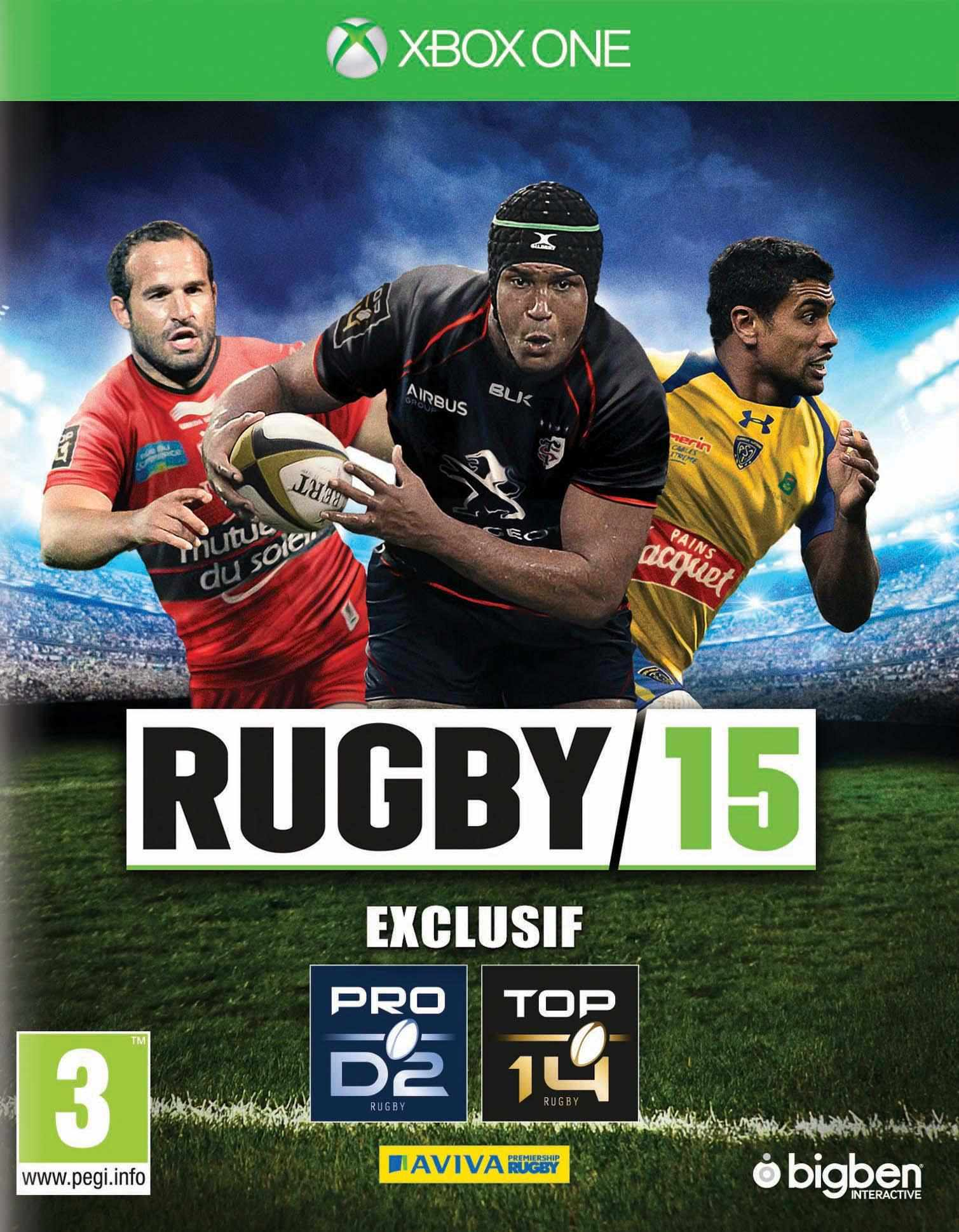 Ver Rugby 2015 Xbox One