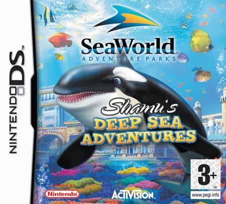 Seaworld Shamus Deep Sea Adventure Nds