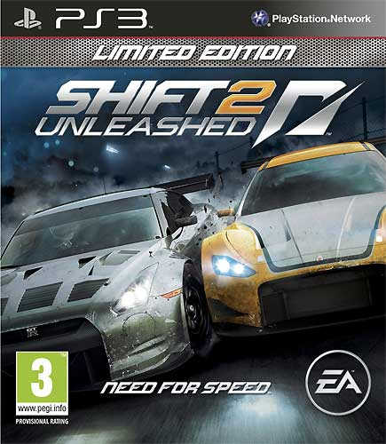 Shift 2 Unleashed Limited Edition Ps3