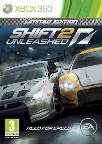 Shift 2 Unleashed Limited Edition X360