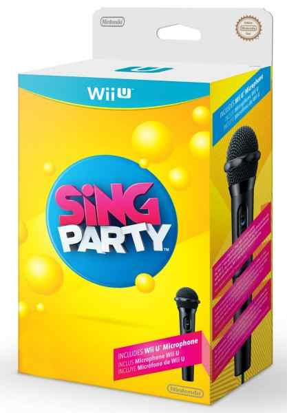 Ver SING PARTY INCLUYE MICROFONO  WII U