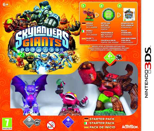Skylanders Giants Starter Pack 3ds